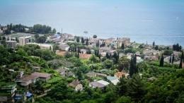 Почти вся Абхазия погрузились вотьму