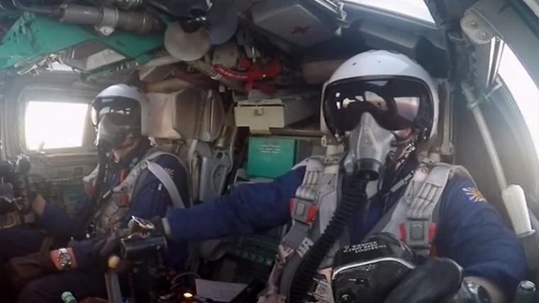 Самолеты ВКС России нанесли удары потеррористам вСирии