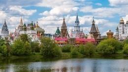 Музейный комплекс Измайловского кремля горит навостоке Москвы