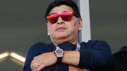 «Эээээ»: Видео очень содержательного интервью Диего Марадоны