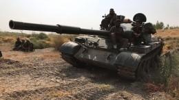 Бой двух советских танков Т-55 попал навидео вЛивии