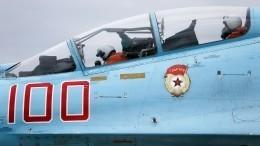 Су-27 перехватили бомбардировщики США, летевшие кроссийской границе