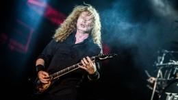 Уфронтмена Megadeth Дэвида Мастейна нашли рак горла