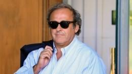 Версии задержания экс-главы УЕФА Мишеля Платини