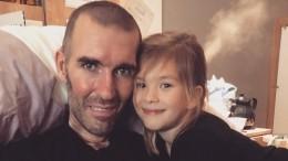 Видео: Смертельно больной экс-футболист «Зенита» поздравил дочь сднем рождения
