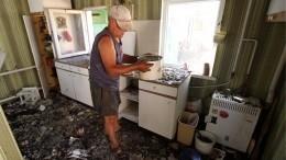 «Такой вот будильник»— видео утреннего артобстрела Донецка