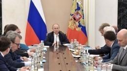 Путин провел итоговое совещание поподготовке к«Прямой линии— 2019»