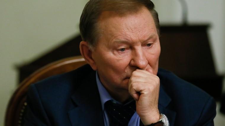 Кучма озвучил вМинске условия снятия экономической блокады Донбасса