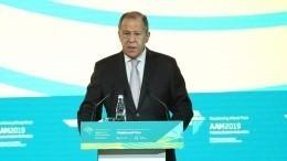Лавров заявил оважности дружбы между Россией иАфрикой