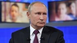 Власти регионов начали реагировать еще доокончания «Прямой линии» сПутиным