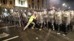«Россия наш враг»: Президент Грузии «подогрела» настроения протестующих