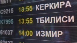 Минтранс: с8июля приостанавливаются полеты вРоссию для авиакомпаний Грузии