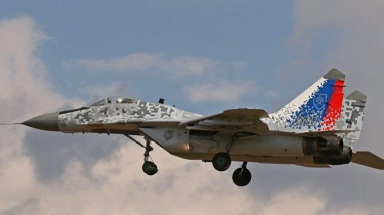 Два МиГ-29 были подняты ввоздух для сопровождения Airbus A320
