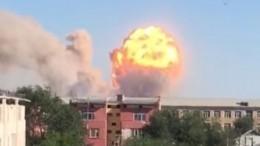 Врезультате взрывов боеприпасов наюге Казахстана погиб один человек