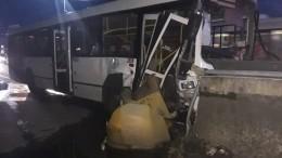 Пассажирский автобус врезался встолб вСочи, есть пострадавшие