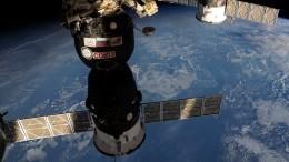 Корабль «Союз МС-11» свозвращающимся наЗемлю экипажем отстыковался отМКС