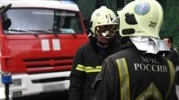 Пожар произошел вдетском лагере вКостромской области— видео сместа