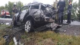 Жуткие кадры: Врезультате ДТП под Брянском погибли четыре человека