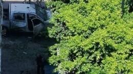 Видео: четверо пострадали при взрыве вТунисе