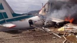 «Сильный удар, сиденья были вырваны»: Пассажирка ожесткой посадке Ан-24