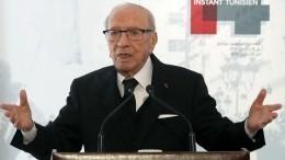 Советник президента Туниса опроверг информацию оего смерти