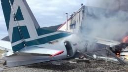 Часть пассажиров Ан-24 изНижнеангарска отправили вИркутск
