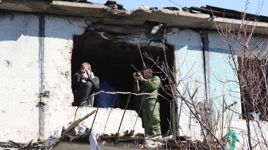 Трое российских журналистов попали под обстрел состороны ВСУкраины вДонецке