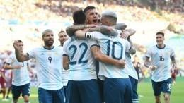 Аргентина обыграла Венесуэлу ивышла вполуфинал Кубка Америки пофутболу— видео