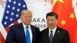 Трамп заявил оготовности пойти насделку сКитаем
