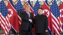 «Мыедем вдемилитаризованную зону»: Трамп подтвердил встречу сКим Чен Ыном