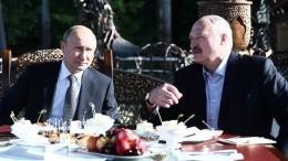 Путин прибыл вМинск софициальным визитом