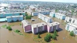 Опубликованы фото ужасающих последствий паводка вИркутской области, снятые изкосмоса
