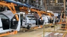 «АвтоВАЗ» приостановит производство машин вТольятти иИжевске с3июля