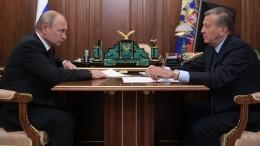 Зубков доложил Путину оразвитии рынка газомоторного топлива вРоссии