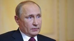 Путин поручил Шойгу провести тщательное расследование гибели моряков-подводников