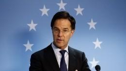 Премьер Нидерландов заявил оразговоре сПутиным окрушении MH17
