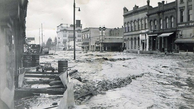 Наводнение в Нанкине 1931 год