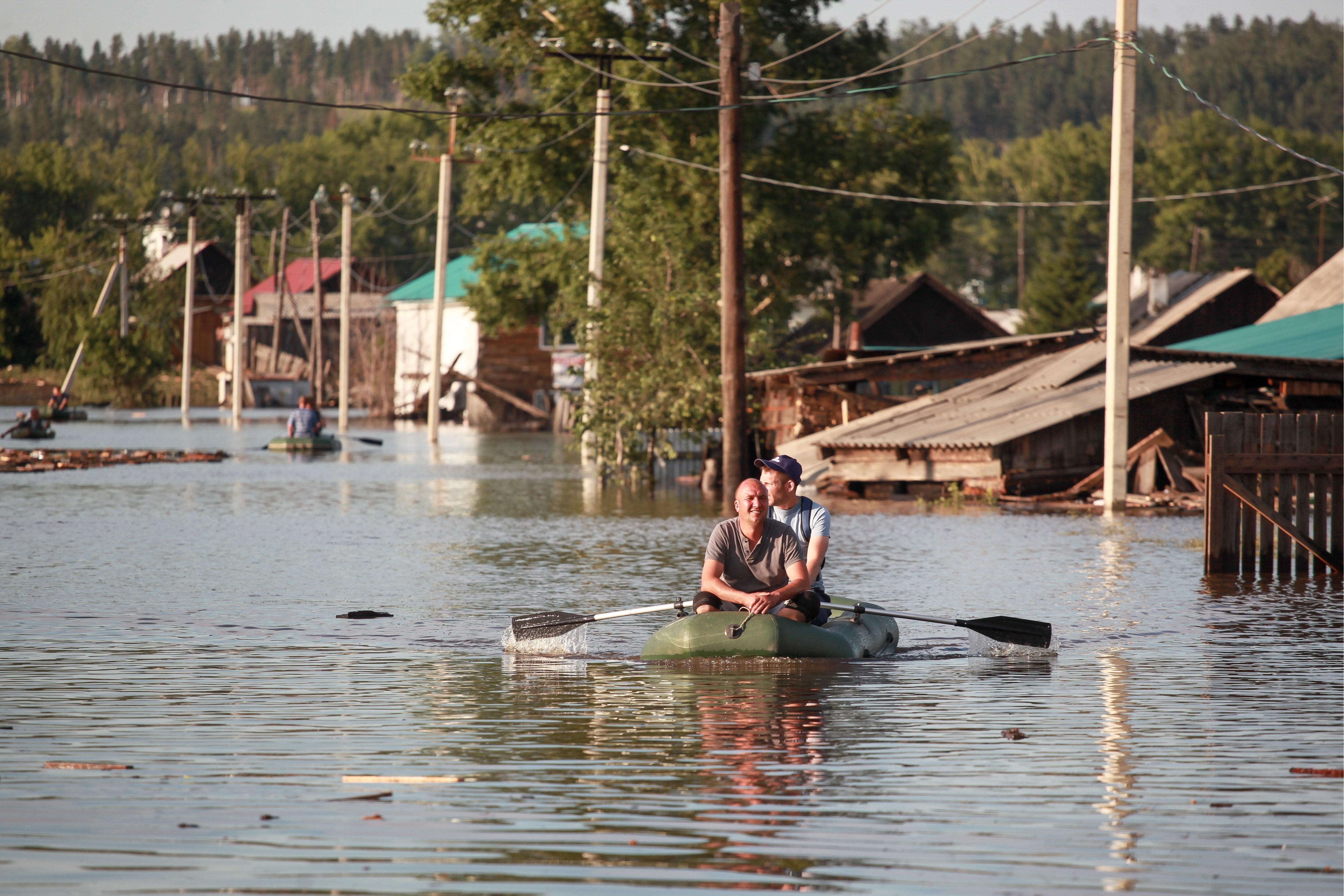 Последствия паводка в Иркутской области 2019 год
