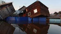 Путин объявил наводнение вИркутской области ЧСфедерального характера