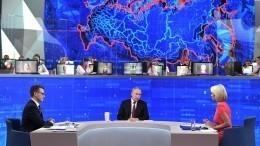 Путин выслушал первые отчеты правительства попоручениям после «Прямой линии»