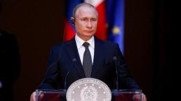 Путин прокомментировал призывы ксоблюдению Россией Минских соглашений