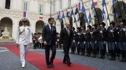 «Молниеносный визит»: Владимир Путин посетил Италию