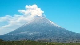 НаКамчатке начал извергаться вулкан Ключевская сопка