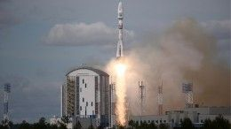 Видео: Ракета «Союз-2.1б» соспутником «Метеор-М» стартовала скосмодрома