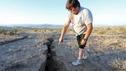Видео: второе задвое суток землетрясение произошло вКалифорнии
