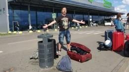 Видео: Сергей «Паук» Троицкий устроил скандал ваэропорту «Жуковский»