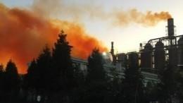 Взрыв произошел наазотном заводе вТурции— видео