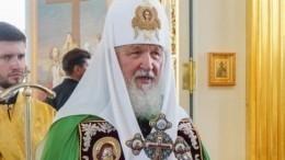 Патриарх Кирилл освятил главный храм Коневского мужского монастыря