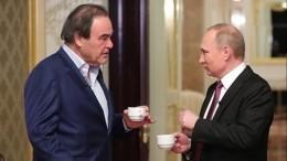 Владимир Путин дал интервью Оливеру Стоуну обУкраине