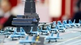 ВПетербурге представили новый атомный авианосец проекта «Ламантин»